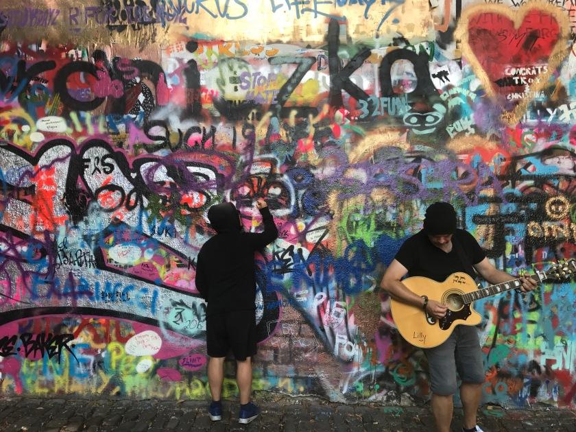 Muro con mucha historia que no puedes perderte en Praga