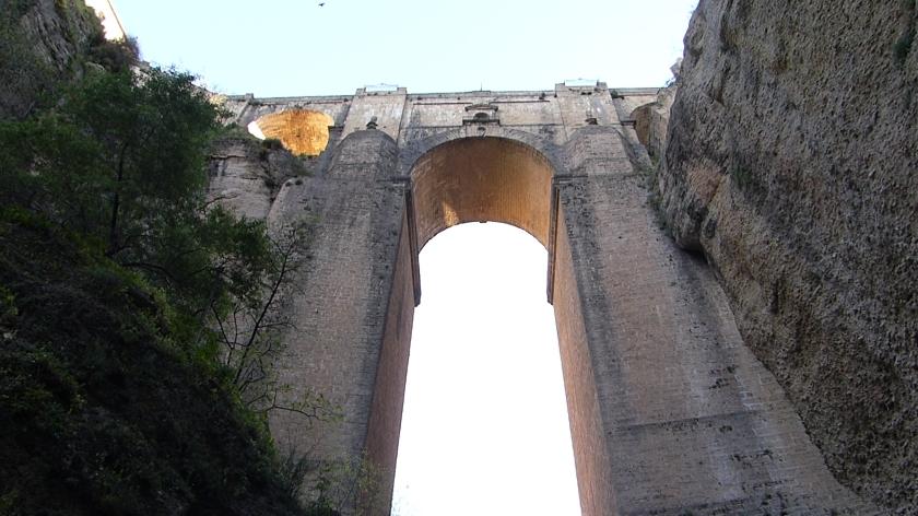 Puente nuevo visto desde la mina