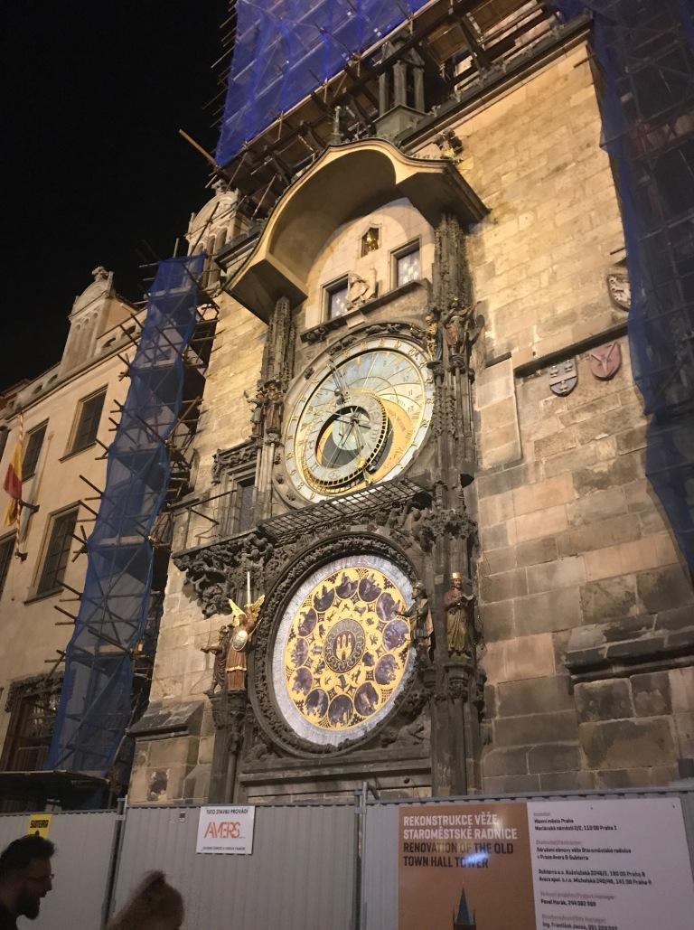 Increible reloj astronómico de Praga