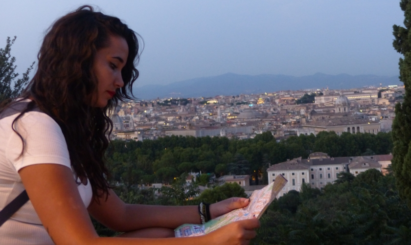 Mirador Jardin de los Naranjos Roma